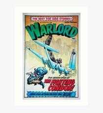 Warlord - The Fighting Condor Art Print