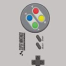 Super Nintendo by Jordan Bails