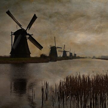 Windmills at Kinderdijk by mariaheyens