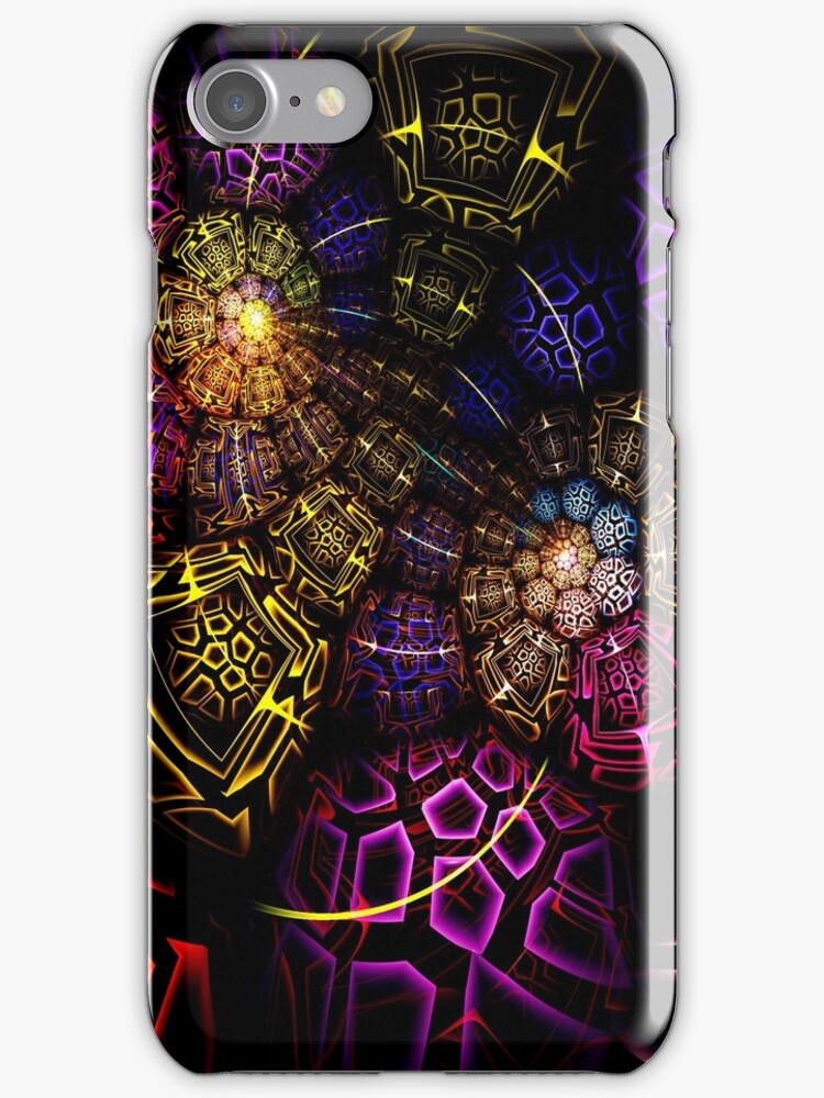 Cracked - iphone - ipod case by Virginia N. Fred