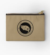 The Society of Palaeontology Fanciers (Black on Light) Studio Pouch