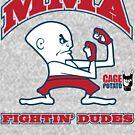 Fightin' Dudes by D4N13L
