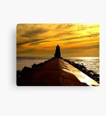 Ludington Lighthouse Canvas Print