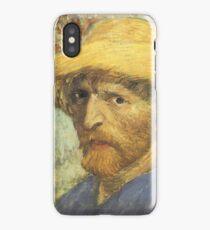 Van Gogh iPhone 5 Case - Self-Portrait with Straw Hat iPhone Case/Skin