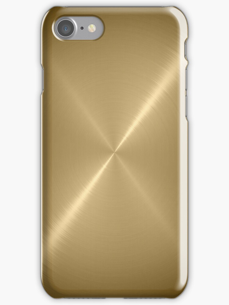 Gold Stainless Shiny Steel Metal by Nhan Ngo