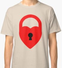 locked heart Classic T-Shirt
