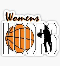 Basketball Women's Hoops Women's Sticker