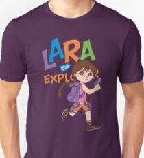 Lara the Explorer Unisex T-Shirt