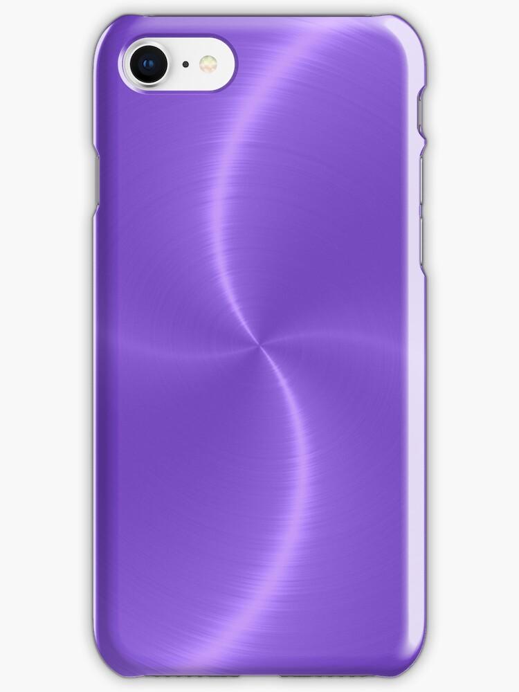 Purple Stainless Shiny Steel Metal Look by Nhan Ngo