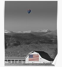 America The Beautiful The Banner Of The Free BWSC Poster