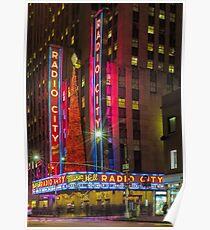 Radio City Music Hall, Study 1 Poster