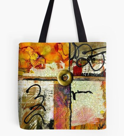 Center Circle Tote Bag