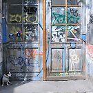 Berlin Dog by Sandra Hobbs