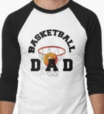 Basketball Dad Men's Baseball ¾ T-Shirt