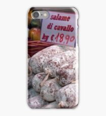 Horse Salami iPhone Case/Skin