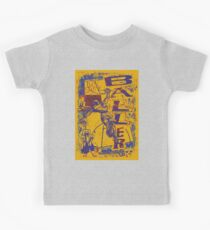 Slam Dunk Baller Yellow and Purple Kids Clothes