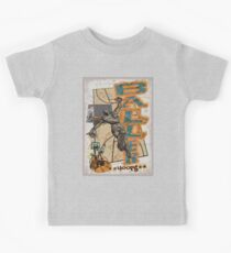Baller Hoops Basketball Slam Dunker Kids Tee