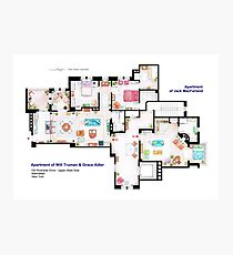 Apartments of Will Truman, Grace Adler and Jack MacFarland Photographic Print