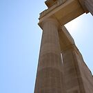 Greek Columns by Dimple Dhabalia - Roots in the Clouds