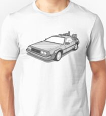 Back to the Future Delorean  T-Shirt