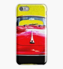 German Flag Porsche 356 Super 90 Red Black Yellow Gold iPhone Case/Skin