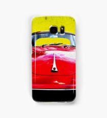 German Flag Porsche 356 Super 90 Red Black Yellow Gold Samsung Galaxy Case/Skin