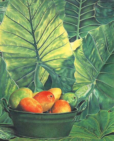 Tropical Fruit by Kate Eller