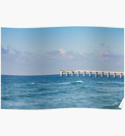 Navarre Pier, Florida Poster