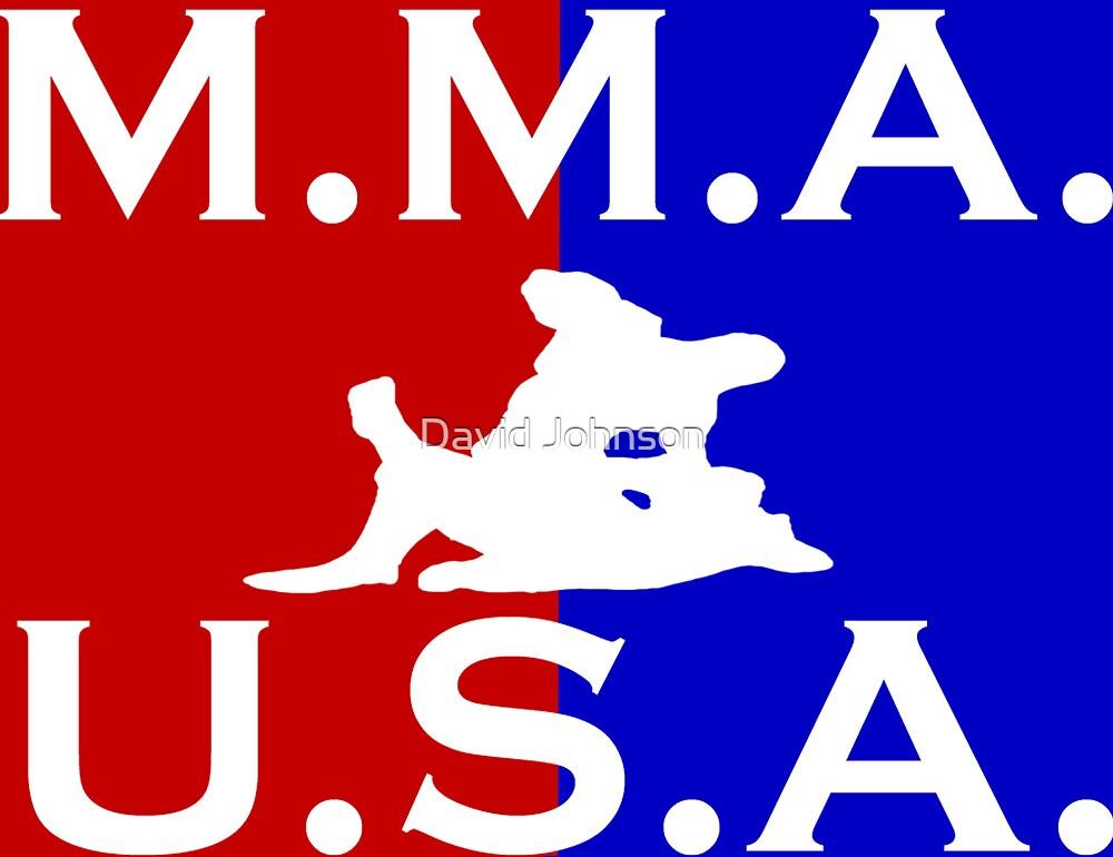 U.S.A. M.M.A. logo 1 by Euvari