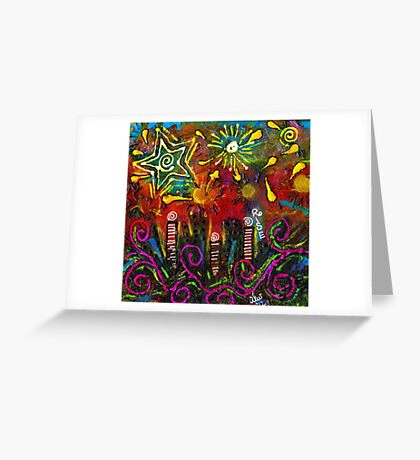 City on the ROCKS Greeting Card
