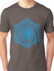 Anatomy of a Cube (Blue) T-Shirt