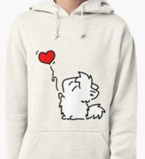 Kitties Love! (shirt) Pullover Hoodie