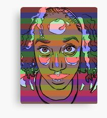 Africana Electronica Canvas Print