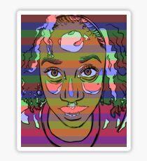 Africana Electronica Sticker