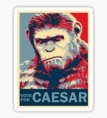 VOTE FOR CAESAR Sticker