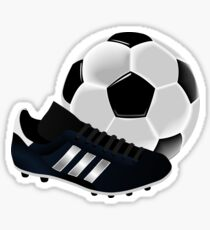 Soccer Cleat and Soccer Ball Sticker