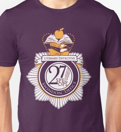 Literary Detective Unisex T-Shirt
