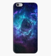 Vinilo o funda para iPhone Galaxia azul