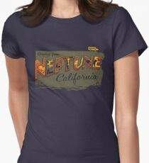 Greetings from Neptune Women's Fitted T-Shirt