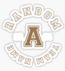 Support the random team! Sticker