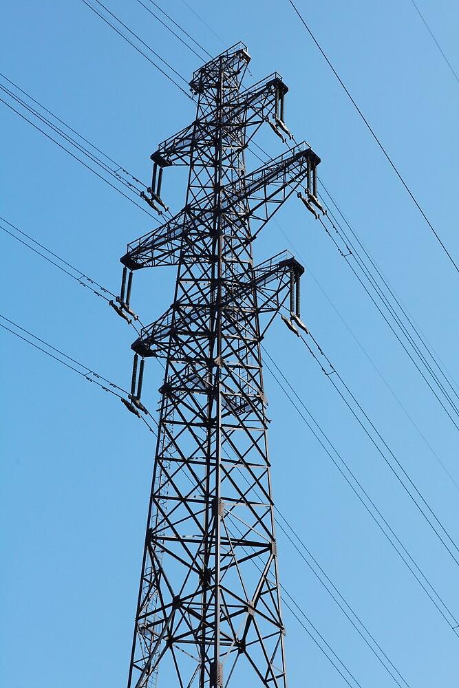 High Voltage Tower by mrivserg