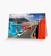 Colours of Bo-Kaap Greeting Card