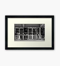 Art Center BLING! Framed Print