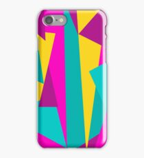 Abstract triangles background iPhone Case/Skin