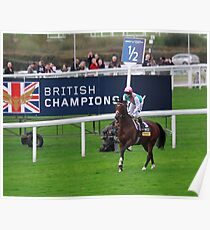 Frankel- British Champion!  Poster