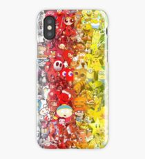 90's and 00's cartoon collection iPhone Case/Skin