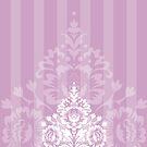 elegant serene pattern 5 by Kat Massard
