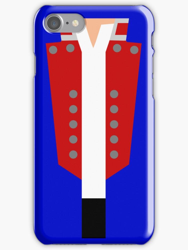 Valjean's 'Bring Him Home' Jacket Minimal Case by freakedoutgeek