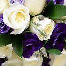 Purple Blooms by James Stevens