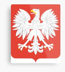 Coat of Arms of People's Republic of poland, 1945-1989 Metal Print